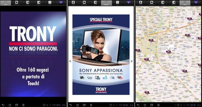 Trony, l'applicazione ufficiale della nota catena ora su Android