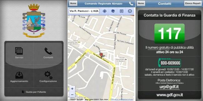 GdF, l'applicazione della Guardia di Finanza arriva su Android