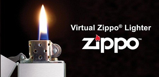 Virtual Zippo® Lighter...accende il tuo smartphone