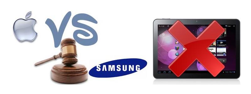 Galaxy Tab 10.1 - Apple ottiene il blocco delle vendite per l'Europa