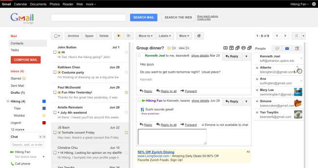 Gmail introduce il