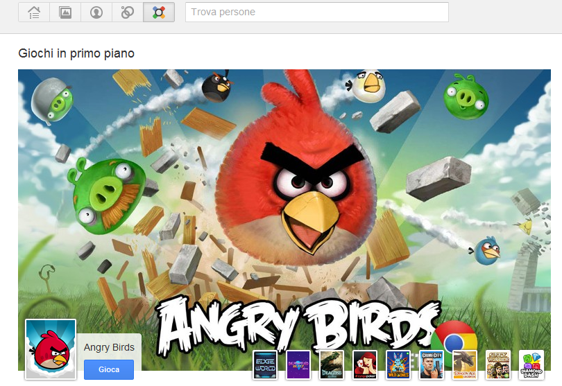 Google+ Games disponibile per tutti