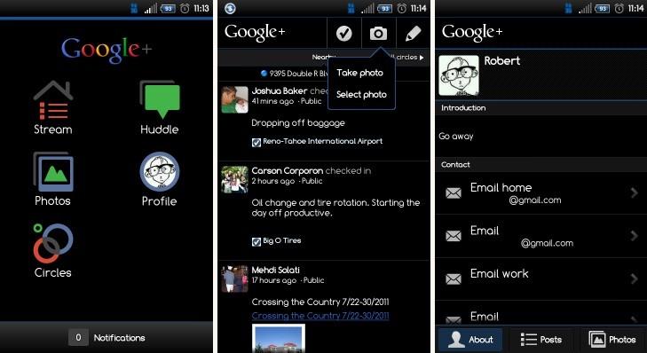 Google+ Inverted, e il social network diventa