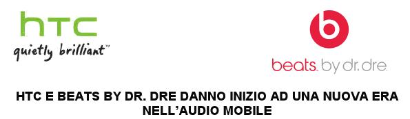 HTC e Beats By Dr. Dre danno inizio ad una nuova era nell'audio mobile
