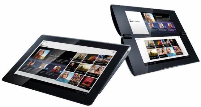 Sony S1 e S2, dettagli sui nuovi tablet Android