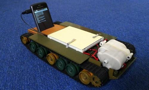Carroarmato Android : pronti alla guerra ?