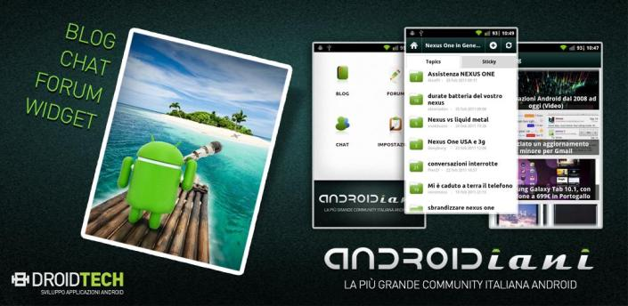 Androidiani App supera i 50.000 downloads