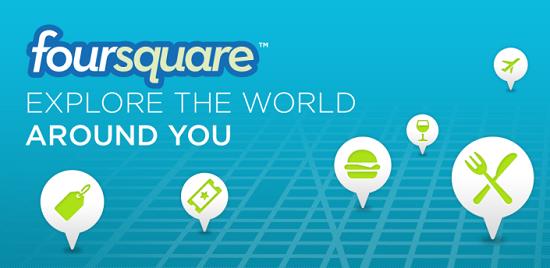 Foursquare si aggiorna alla versione 2011.08.11