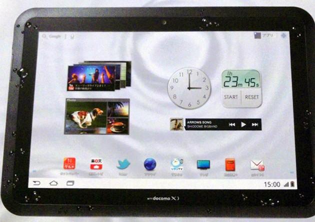 Fujitsu Arrows Tab: il tablet giapponese super resistente