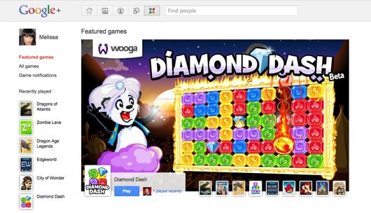 Giochi su Google+, ma non ancora per tutti