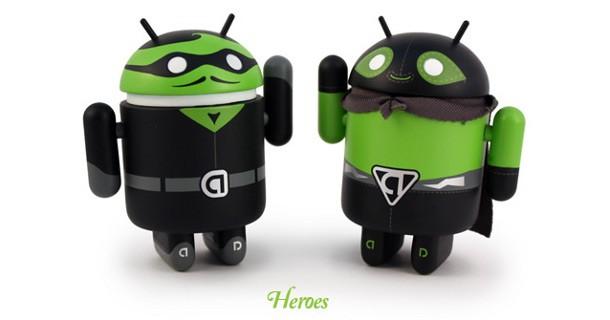 Android Heroes & Villians i mini android...già terminati