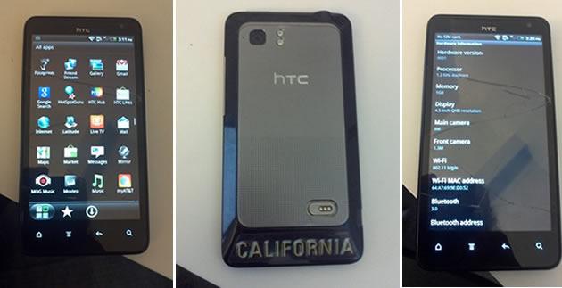 HTC Holiday - Immagini e Specifiche tecniche del nuovo prototipo taiwanese