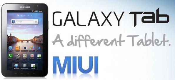 ROM MIUI anche su Samsung Galaxy Tab 7