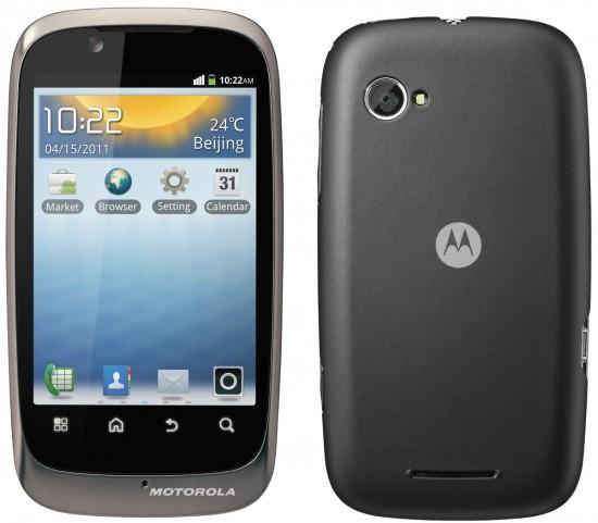 Motorola XT531 con display da 3.5″ e Android 2.3, per tutte le tasche