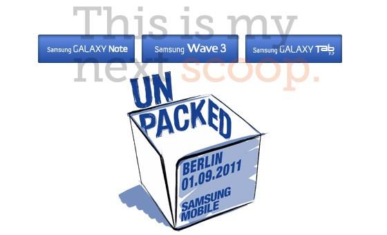 IFA 2011 : svelati i terminali che presenterà Samsung