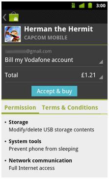 Vodafone : si pagherà con il credito telefonico