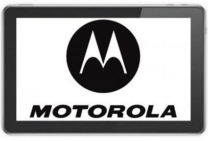 Ecco la foto di un tablet Motorola con display da 7 pollici