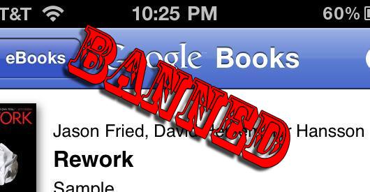 Google nega i servizi Books agli utenti iPhone ed iPad