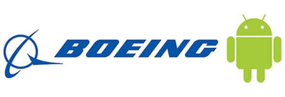 Android vola a bordo del Boeing 787 Dreamliner