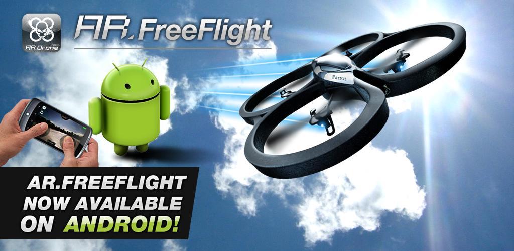 Parrot AR. Drone ora si pilota anche con gli smartphone Android