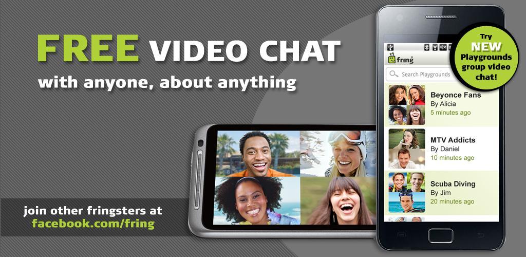 Fring si aggiorna con le video chat di gruppo 'Playgrounds'