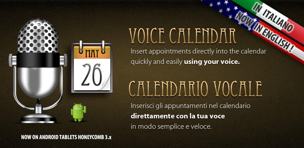Calendario Vocale per Android