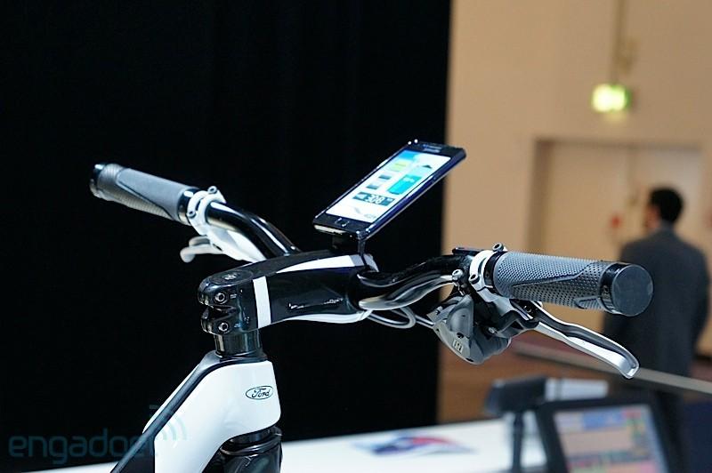 Ford E-Bike: bicicletta elettrica controllata da un Samsung Galaxy S 2