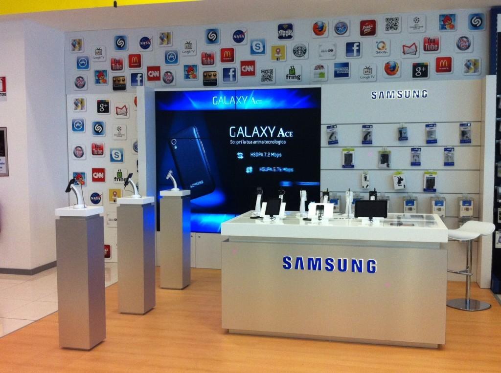 Samsung annuncia il primo Shop in Shop a Catania