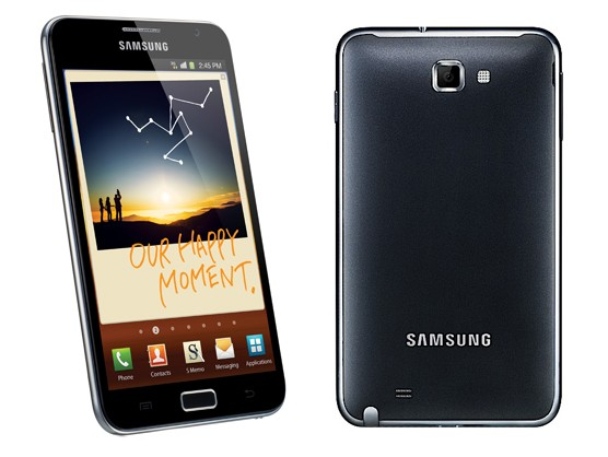 Samsung annuncia Galaxy Note con display da 5.3
