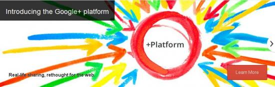 Google rilascia una prima parte delle API di Google+