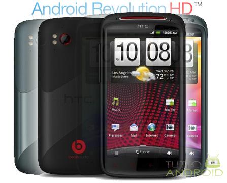 Trasformare HTC Sensation in Sensation XE