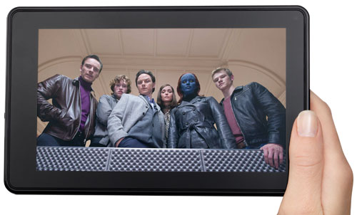 Amazon Kindle Fire: foto e video ufficiali del primo tablet Amazon