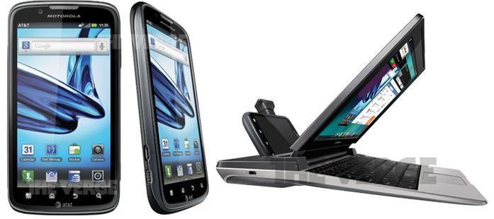 Motorola Atrix 2 e Lapdock 100: immagini e caratteristiche tecniche