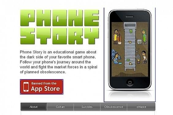 Phone Story: un gioco italiano sui suicidi nelle fabbriche Foxconn, ma Apple lo censura