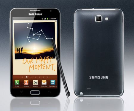 Samsung Galaxy Note : in arrivo la ROM XXKL8