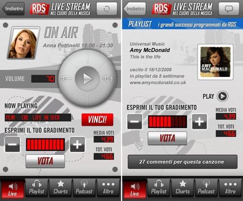 RDS, l'applicazione ufficiale di Radio Dimensione Suono ora nel Market