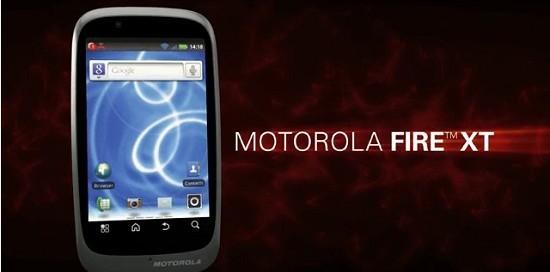 Motorola FIRE XT: nuovo smartphone Android di fascia medio/bassa