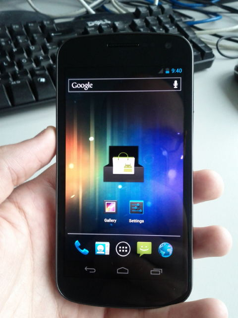 Ecco in video il Samsung Nexus Prime con Ice Cream Sandwich