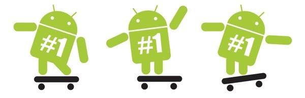 In Asia più del 50% degli smartphone sono Android