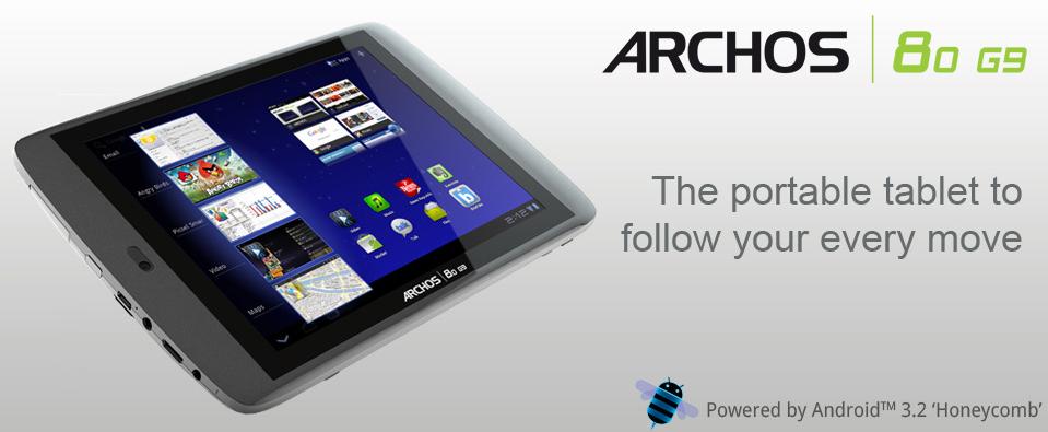 Archos G9: iniziato roll-out nuovo update OTA