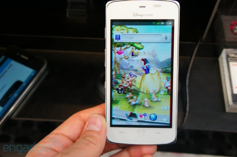 Hands on degli smartphone Disney