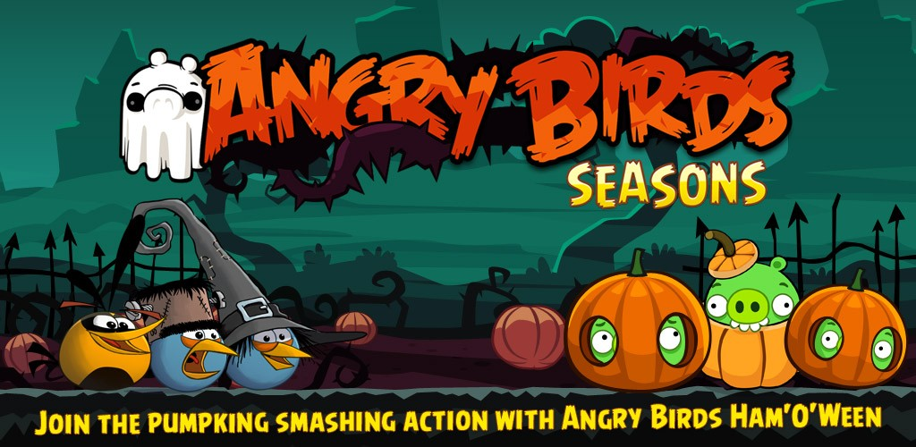 Angry Birds Seasons Ham'o'ween: il nuovo episodio per Halloween