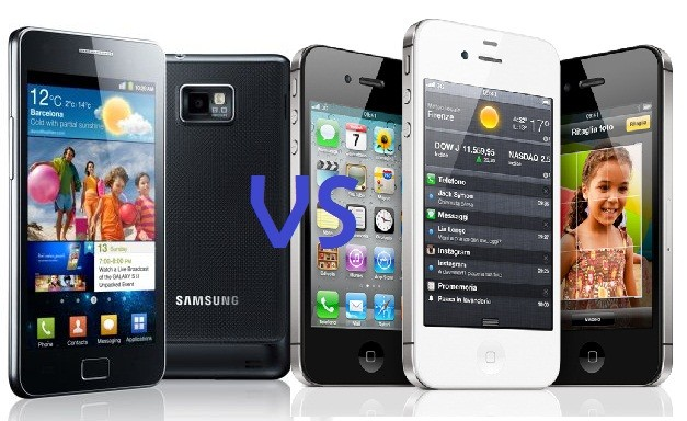 Samsung Galaxy S II vs iPhone 4S: video del drop test of the year