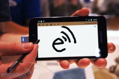 Android 4.0 offre il supporto nativo alle Stylus