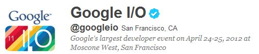 Annunciate le date del Google I/O 2012 