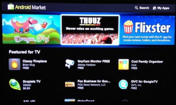 Google TV 2.0: arrivano le prime immagini, market compreso