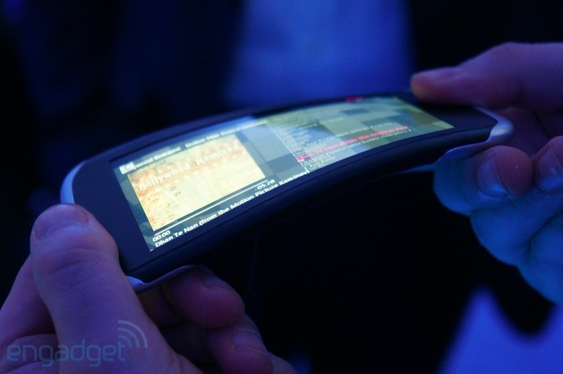 Samsung : 2012 anno dei display flessibili