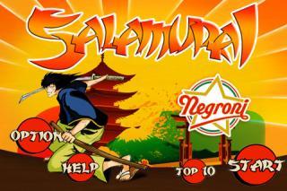 Salamurai: il clone comico di Fruit Ninja