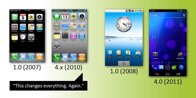 Android vs iOS: chi è cambiato e chi no!