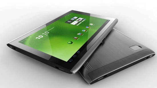 Acer Iconia Tab A510 ed A511: nuovi tablet Android con Tegra 3